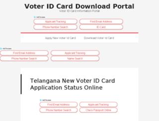 voteridcarddownload.org screenshot