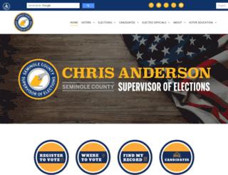 voteseminole.org screenshot
