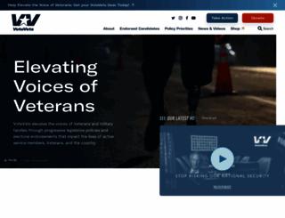 votevets.org screenshot