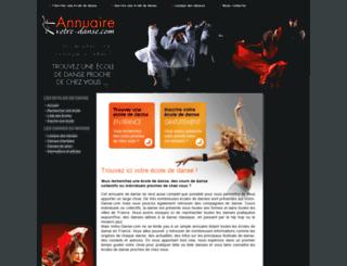 votre-danse.com screenshot