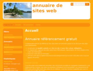 votreannuaire.e-monsite.com screenshot
