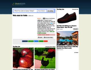 vottle.com.clearwebstats.com screenshot