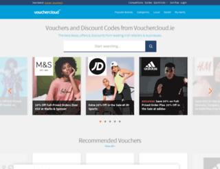 voucher-cloud.ie screenshot