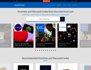 vouchercloud.com screenshot