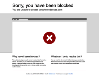 vouchercodesuae.com screenshot