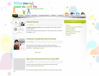 vouslecoachdevotrevie.com screenshot