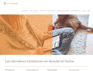 vox-humana.fr screenshot