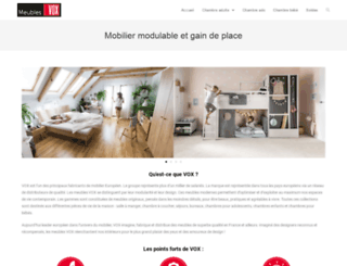 vox-meubles.fr screenshot