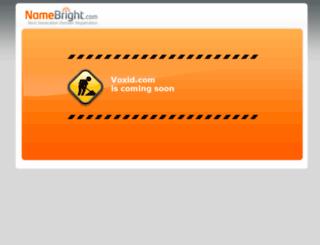 voxid.com screenshot