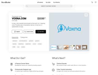 voxna.com screenshot
