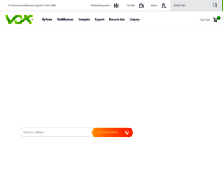voxtelecom.co.za screenshot