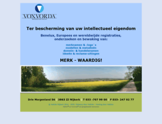voxvorda.nl screenshot