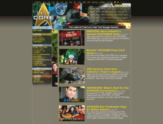 voy.trekcore.com screenshot