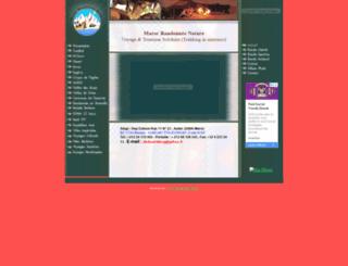 voyage-randonnee-maroc.com screenshot