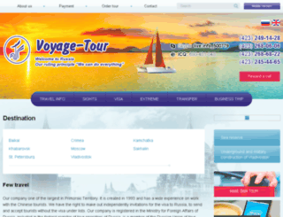 voyage-service.com screenshot