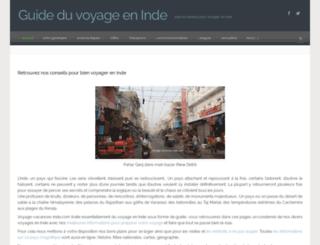 voyage-vacances-inde.com screenshot