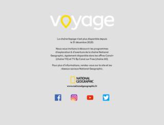 voyage.fr screenshot