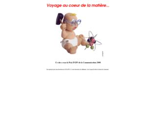 voyage.in2p3.fr screenshot