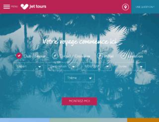 voyage.jettours.com screenshot