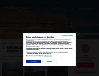 voyage.middleeastveo.com screenshot