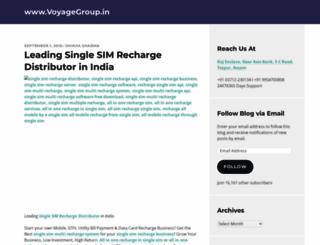 voyagegroupin.wordpress.com screenshot