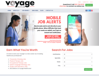 voyagehealth.com screenshot