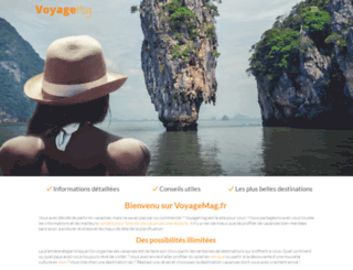 voyagemag.fr screenshot