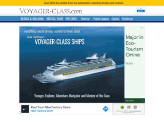 voyager-class.com screenshot