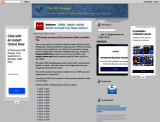voyager8.blogspot.com screenshot