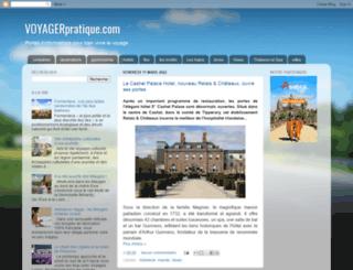 voyagerpratique.com screenshot