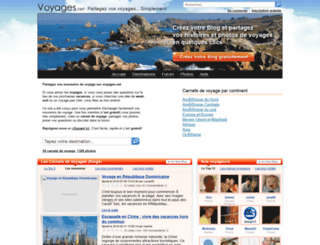 voyages.net screenshot
