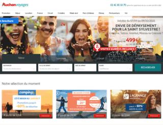 voyagesauchan.com screenshot