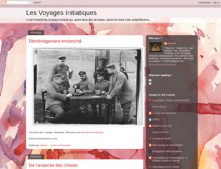 voyagesinitiatiques.blogspot.fr screenshot