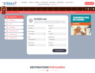 voyagevasco.com screenshot