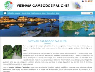 voyagevietnamcambodgepascher.net screenshot
