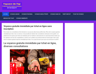 voyance-au-top.com screenshot
