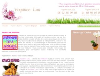 voyance-lou.com screenshot