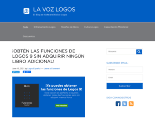 voz.logos.com screenshot