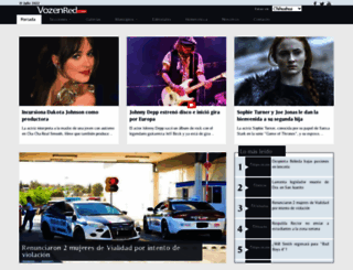 vozenred.com screenshot