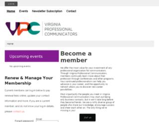 vpc.wildapricot.org screenshot