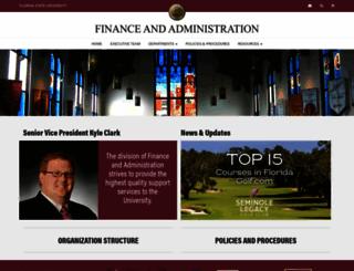 vpfa.fsu.edu screenshot