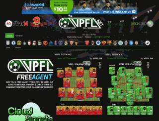 vpfl.boards.net screenshot