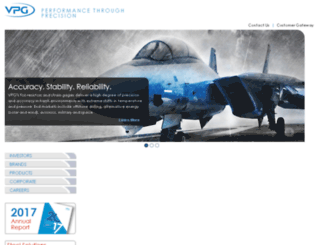vpgsensors.com screenshot