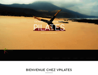 vpilates.ch screenshot