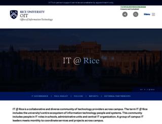 vpit.rice.edu screenshot