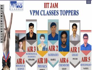 vpmclasses.com screenshot