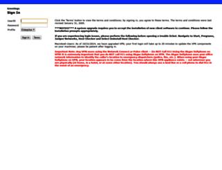 vpn-cdc.kroger.com screenshot