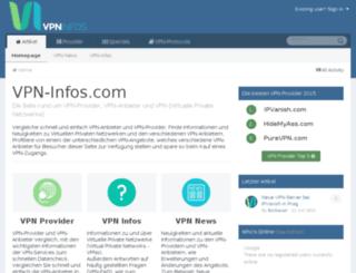 vpn-provider.org screenshot