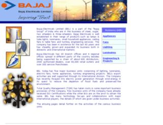 vpn.bajajelectricals.com screenshot