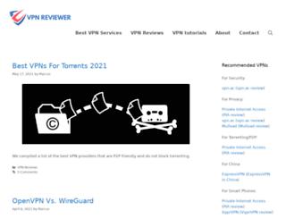 vpnreviewer.com screenshot
